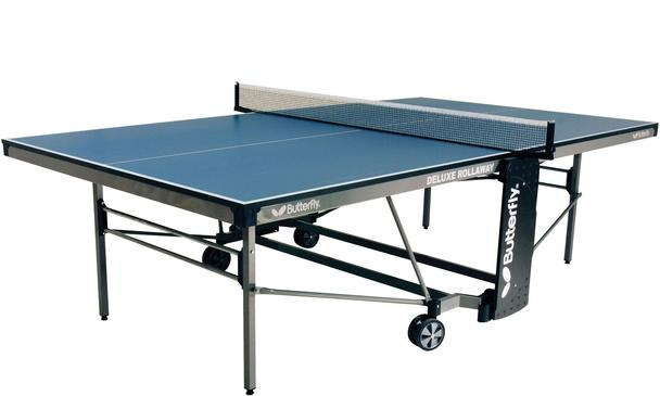 Butterfly Deluxe Blue Outdoor Table Tennis Table: Discontinued