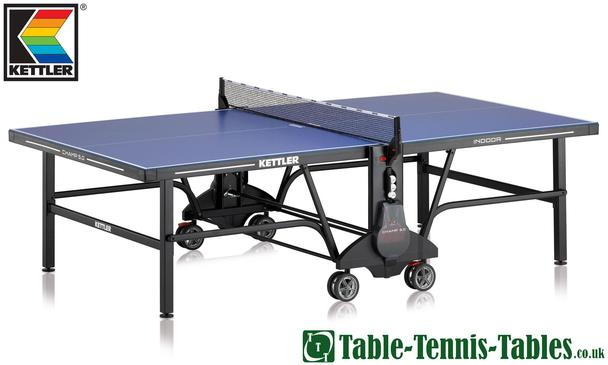 Kettler Champ 5.0 Indoor Table Tennis Table: Discontinued (Black Frame)