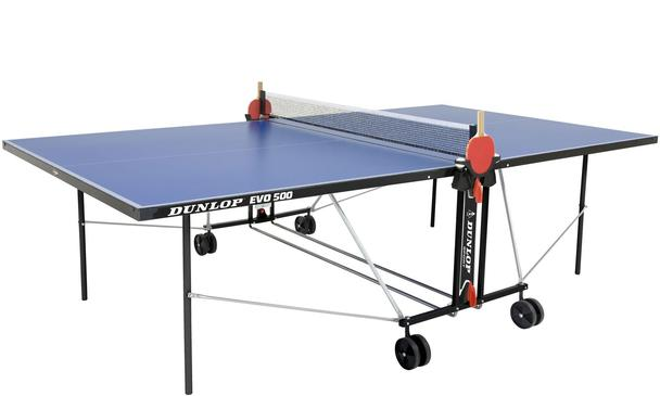 Dunlop Evo 500 Blue Outdoor Table Tennis Table: Discontinued May 2017
