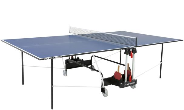 Dunlop EVO 2000 BLUE Indoor Table Tennis Table  - Discontinued Jan 17