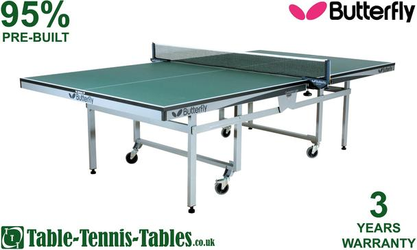 Butterfly Centrefold Light Rollaway Table Tennis Table: Discontinued