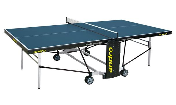 Andro Indoor Playback Compact Folding Table Tennis Table: Discontinued