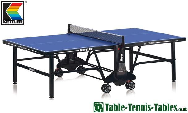 Kettler Smash 9 Outdoor Table Tennis Table: Discontinued
