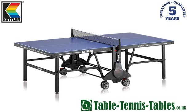 Kettler Champ 5.0 Outdoor Table Tennis Table: Discontinued