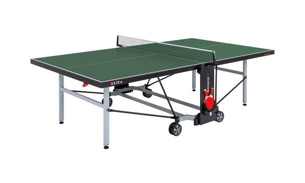 Sponeta Deluxe Outdoor Green Table Tennis Table
