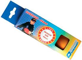 Oversize Table Tennis Balls (44mm) Box of 3