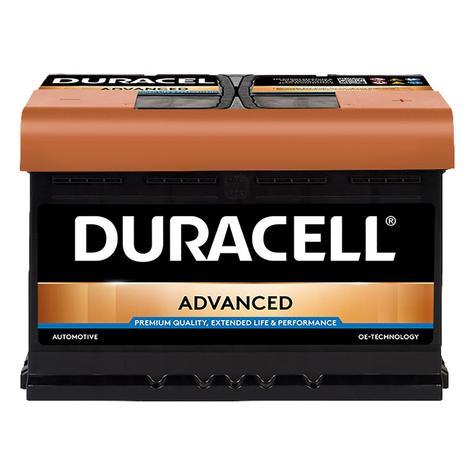 Duracell 100 / DA72 Advanced Car Battery