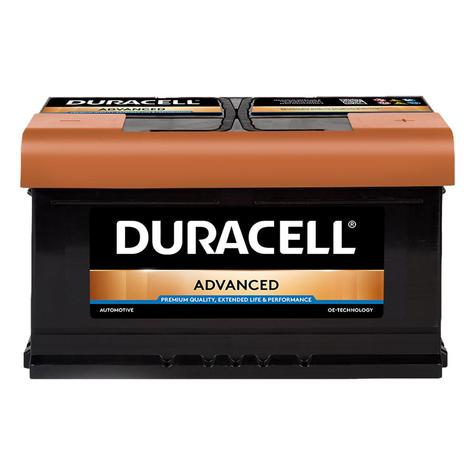 Duracell 110 / DA80 Advanced Car Battery