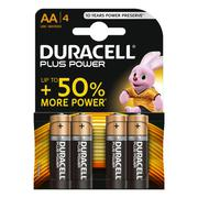 Duracell AA Battery Plus Power MN1500 (Pack of 4)