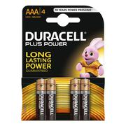 Duracell AAA Battery Plus Power MN2400 (Pack of 4)