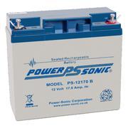 Powersonic PS12170 12v 17.0Ah SLA/VRLA Battery