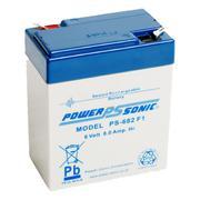 Powersonic PS682 6v 8.0Ah SLA/VRLA Battery