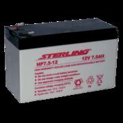 Sterling HP7.5-12 12v 7.5Ah SLA/VRLA Battery