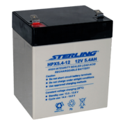Sterling HPX5.4-12 12v 5.4Ah SLA/VRLA Battery