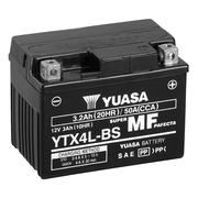 Yuasa YTX4L-BS 12v VRLA Motorbike & Motorcycle Battery