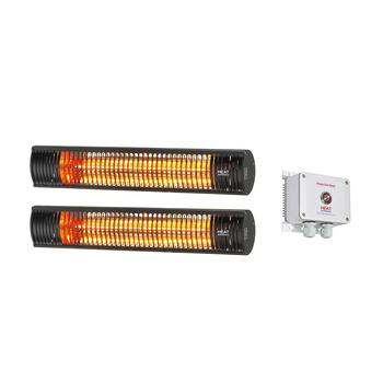 Shadow Pony Heater Pack (A) - 3kW Ultra Low Glare Heat + Soft-start Time Lag Switch