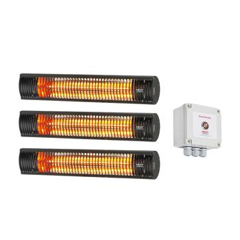 Shadow Pony Heater Pack (B) - 4.5kW Ultra Low Glare Heat + Soft-start Time Lag Switch