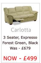 Carlotta Three Seater Sofa