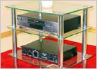 Hudson 3 Shelf Video Cabinet