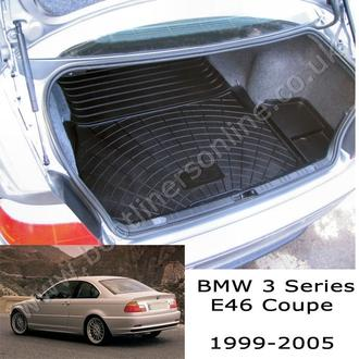 BMW E46 3 Series Coupe Boot Liner (1999 - 2005)