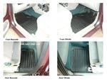 Land Rover Freelander 3/5 Door Rubber Floor Mats - set of 4