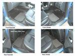 Ford Mondeo Estate Mk II (1996 - 2000) Rubber Floor Mats - set of 4