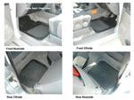 Mitsubishi Shogun GLS Rubber Floor Mats - set of 4