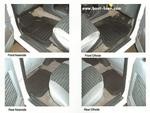 Vauxhall Frontera Rubber Floor Mats - set of 4