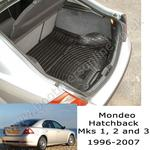 Ford Mondeo Hatchback Mk 1 2 and 3 Boot Liner (1996 - 2007)