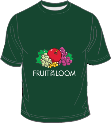 Fruit of the Loom Screen Stars Bottle Green