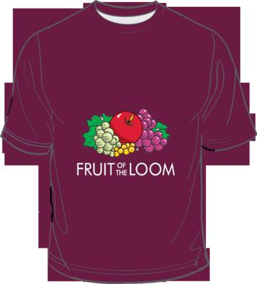 Fruit of the Loom Screen Stars Burgundy