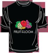 Fruit of the Loom Screen Stars Black