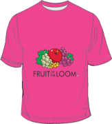 Fruit of the Loom Screen Stars Fuchsia