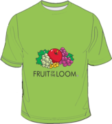 Fruit of the Loom Screen Stars Lime Green