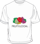 Fruit of the Loom Screen Stars White