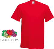 Fruit of the Loom Screen Stars Red