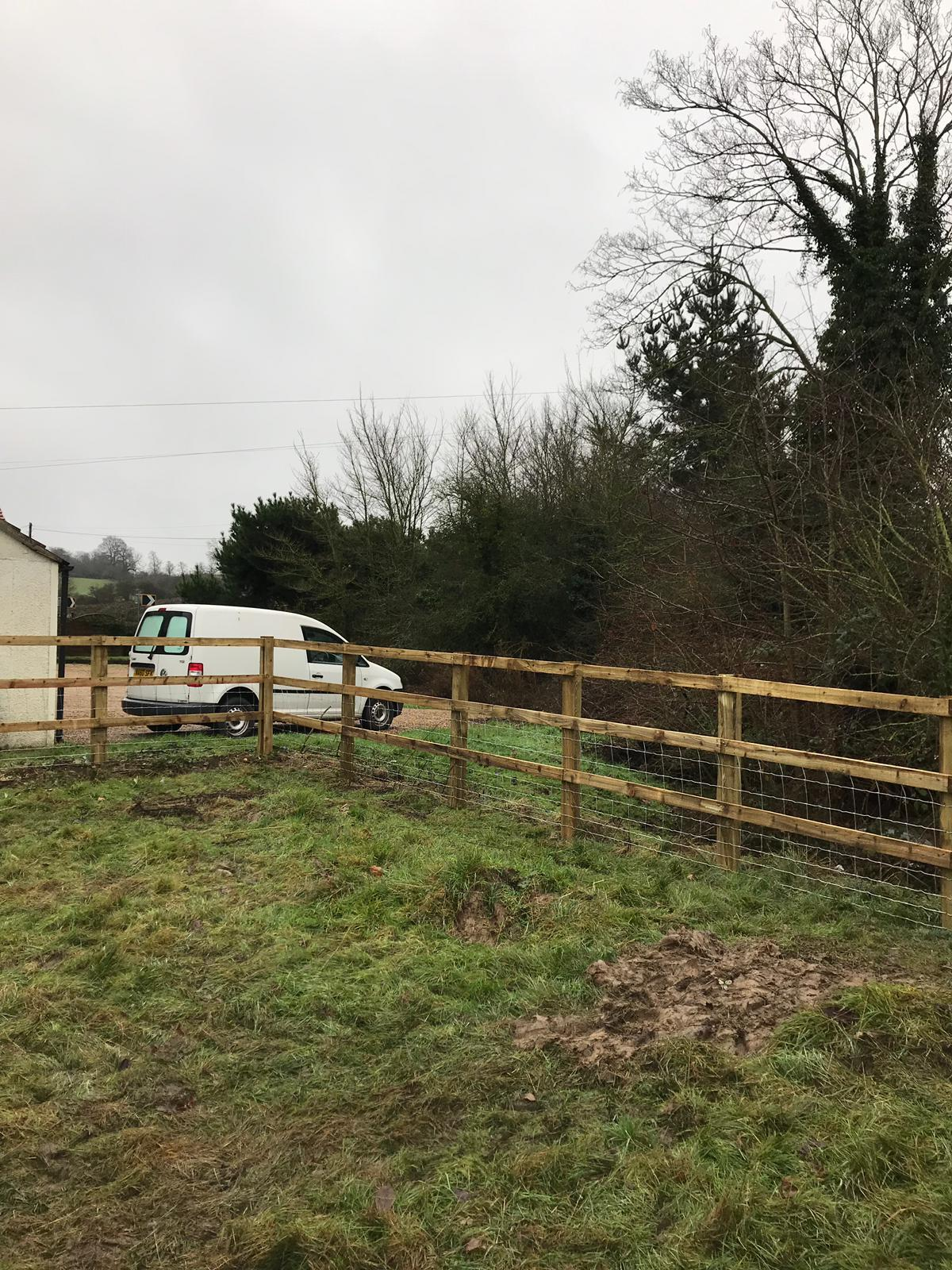 Post and Rail Fencing Essex and Hertfordshire