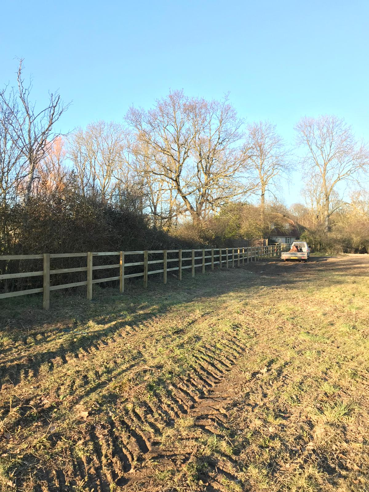 Essex Post and Rail Fencing