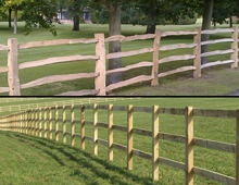 Post and rail fencing Hertfordshire and Essex