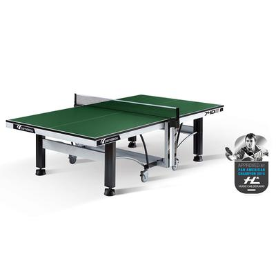Cornilleau ITTF Competition 740 25mm Rollaway Indoor Table Tennis Table - Green