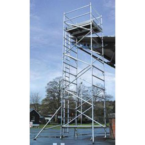 Scaffold Tower Lyte SW1847 Helix Aluminium  0.85m x 1.80m x 4.70m