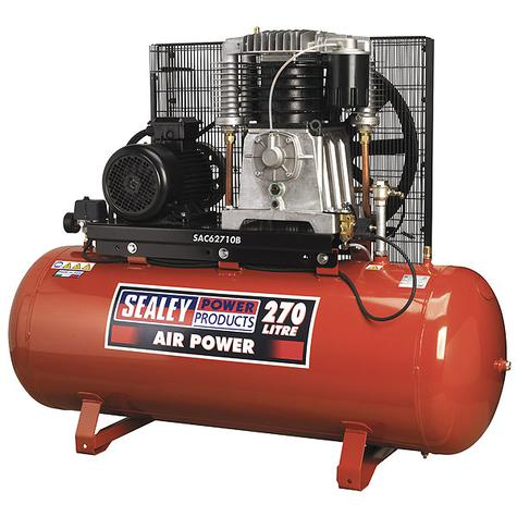 Compressor Sealey SAC62710B 270ltr Belt Drive 3-Phase