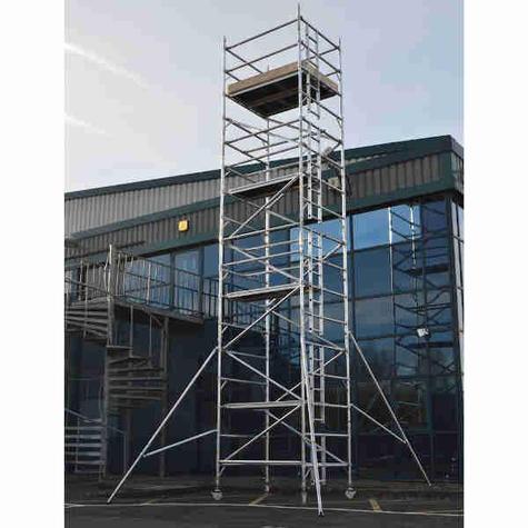 Scaffold Tower Lyte HILYTE500 Aluminium  1.45m x 1.8m x 8.2m