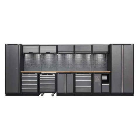 Modular Storage System Sealey APMSSTACK01W  - Pressed Wood Worktop