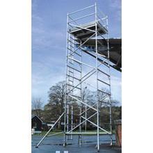 Scaffold Tower Lyte DW2582 Helix Aluminium  1.45m x 2.5m x 8.2m