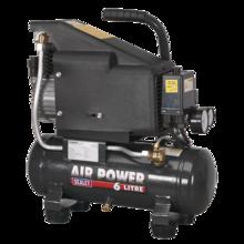 Compressor Sealey SAC0610E 6ltr Direct Drive