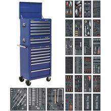Tool Chest Combination SPTCCOMBO1  c/w 1179pc Tool Kit - Blue