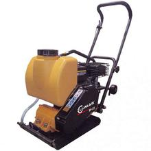 Plate Compactor Lumag RPI12 370mm with Mat & Wheels