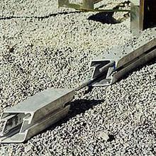 Probst AZL-Set 60. 60 metre Screed Rails