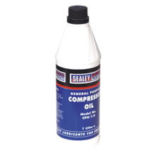 Compressor Oil Sealey CPO1S 1ltr